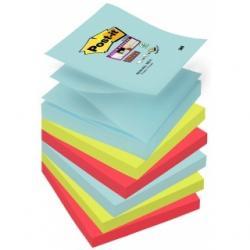 KARTECZKI POST-IT SUPER STICKY Z-NOTES 76 X 76 MM MIX