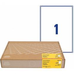 Etykiety wysyłkowe Avery Zweckform, 300 ark./op., 199,6x289,1mm