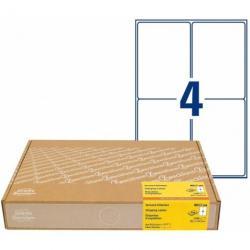 Etykiety wysyłkowe Avery Zweckform, 300 ark./op., 99,1 x 143,5mm