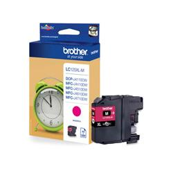 Tusz Brother do MFCJ4510DW/4610DW/4710DW | 1 200 str. | magenta