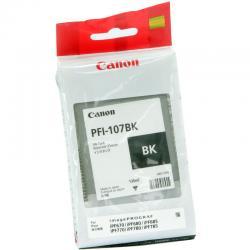 Tusz Canon PFI-107BK do iPF670/680/685/770/780/785 | 130ml | black