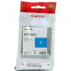 Tusz Canon PFI-107C do iPF670/680/685/770/780/785 | 130ml | cyan