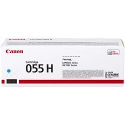 Toner Canon CRG055HC do i-SENSYS MF742Cdw/MF744Cdw | 5900 str. | Cyan