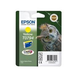 Tusz Epson T0794 do Stylus Photo 1400/1500W/P50/PX660 | 11,1ml | yellow
