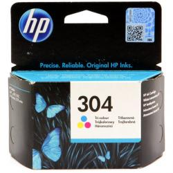 Tusz HP 304 do Deskjet 3720/30/32 | 100 str. | CMY