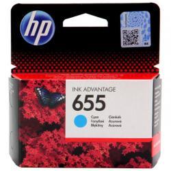 Tusz HP 655 do Deskjet 3525/4615/4625/5525/6525 | 600 str. | cyan