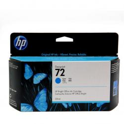 Tusz HP 72 Vivera do Designjet T610/1100/1200/1300 | 130ml | cyan