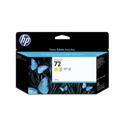 Tusz HP 72 Vivera do Designjet T610/1100/1200/1300 | 130ml | yellow