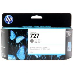 Tusz HP 727 do Designjet T920/1500/2500 | 130ml | grey