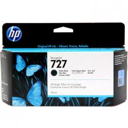 Tusz HP 727 do Designjet T920/1500/2500 | 130ml | matte black
