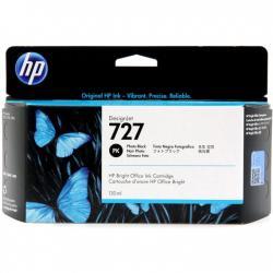 Tusz HP 727 do Designjet T920/1500/2500 | 130ml | photo black
