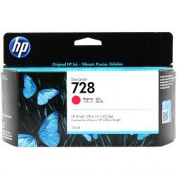 Tusz HP 728 do Designjet T730/T830 | 130ml | magenta
