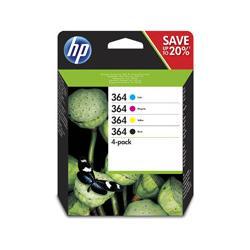 Zestaw czterech tuszy HP 364 do Deskjet 3070A, Photosmart C5380   CMYK