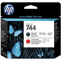 Głowica HP 744 do DesignJet Z5600/Z2600 | matte black/chromatic red