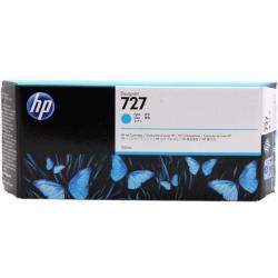 Tusz HP 727 do Designjet T920/1500/2500 | 300ml | cyan