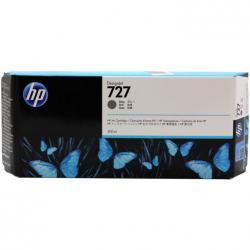 Tusz HP 727 do Designjet T920/1500/2500 | 300ml | grey