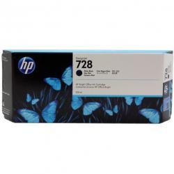 Tusz HP 728 do Designjet T730/T830 | 300ml | matte black