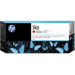Tusz HP 745 do DesignJet Z5600/Z2600 | 300ml | Chromatic Red