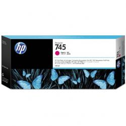 Tusz HP 745 do DesignJet Z5600/Z2600 | 300ml | magenta