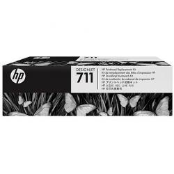 Zestaw zamiennej głowicy drukującej HP 711 | Designjet T120/T520