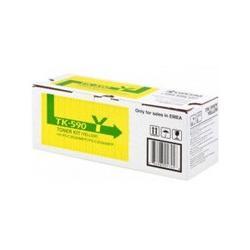 Toner Kyocera TK-590Y do FS-C2026/C2126 | 5 000 str. | yellow