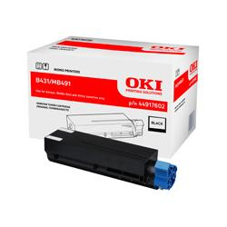 Toner Oki do B431, MB491 | 12 000 str. | black