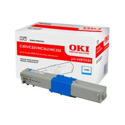 Toner Oki do C301/321/ MC342/MC332 | 1 500 str. | cyan