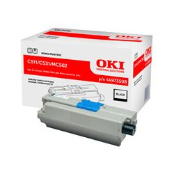 Toner Oki do C511/531/MC562 | 7 000 str. | black