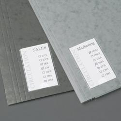 KIESZENIE SAMOPRZYLEPNE 3L NA ETYKIETY 25x75mm (12
