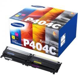 Zestaw tonerów HP do Samsung CLT-P404C | BK 1x 1 500, CMY 3x 1 000 str. | CMYK