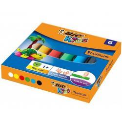 Plastelina BiC Kids 6 kolorów