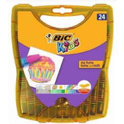 Pastele olejne BiC Kids 24 kolory