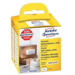 Etykiety na rolce Avery Zweckform 190x59mm białe (
