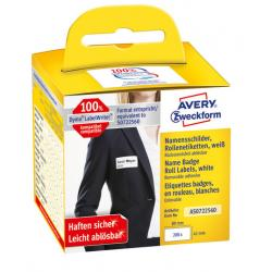 Etykiety na rolce Avery Zweckform 41x89mm białe (2