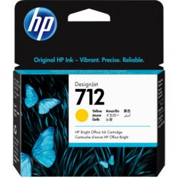 Tusz HP 712 | 29ml | yellow