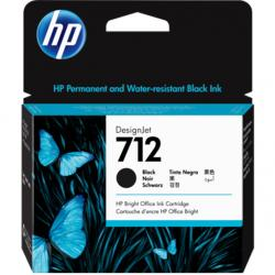 Tusz HP 712 | 80ml | black