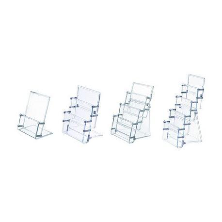 Ogromny STOJAK NA ULOTKI A5 3 KIESZENIE PANTA PLAST - TopOffice - Artykuły VY95