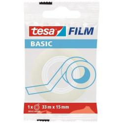 TAŚMA BIUROWA TESA BASIC 15mmx33m (10)